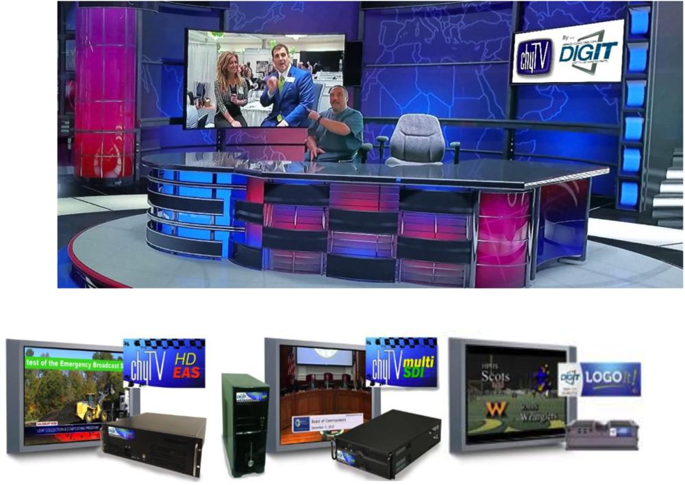 Digital Signage Solutions: Video Graphics Generator   DigIt Signage